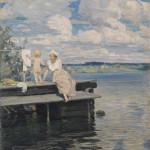 Uz laipām, 1907
