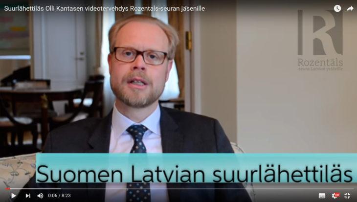 Suurlähettiläs Olli Kantanen