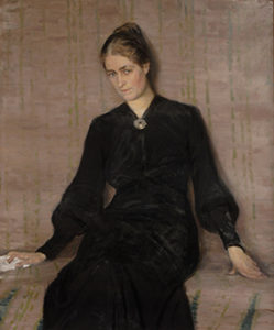 Portrait of Maila Talvio. 1904