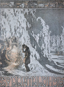 """Sydäntalvi"" (The Heart of Winter). 1916"