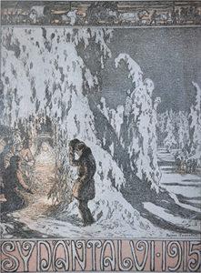 """""""Sydäntalvi"""" (The Heart of Winter). 1916"""
