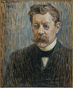Portrait of Writer Rūdolfs Blaumanis. 1908