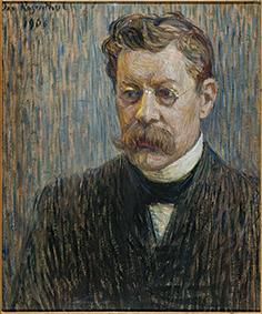 Portrait of Writer Rūdolfs Blaumanis. 1908