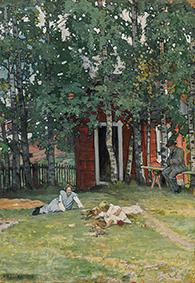 In Nummela. 1906