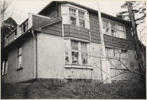 Villa in Brändö (Kulosaari). 1961