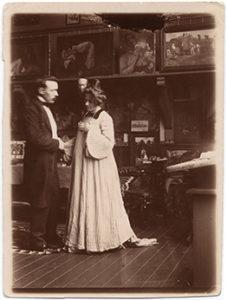 Elli och Janis. 1903