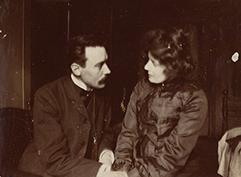 Elli ans Janis. 1903.