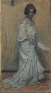 Porträtt av Elli Rozentāle, 1906