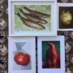 Kuvia ruokaa esittävistä valokuvista